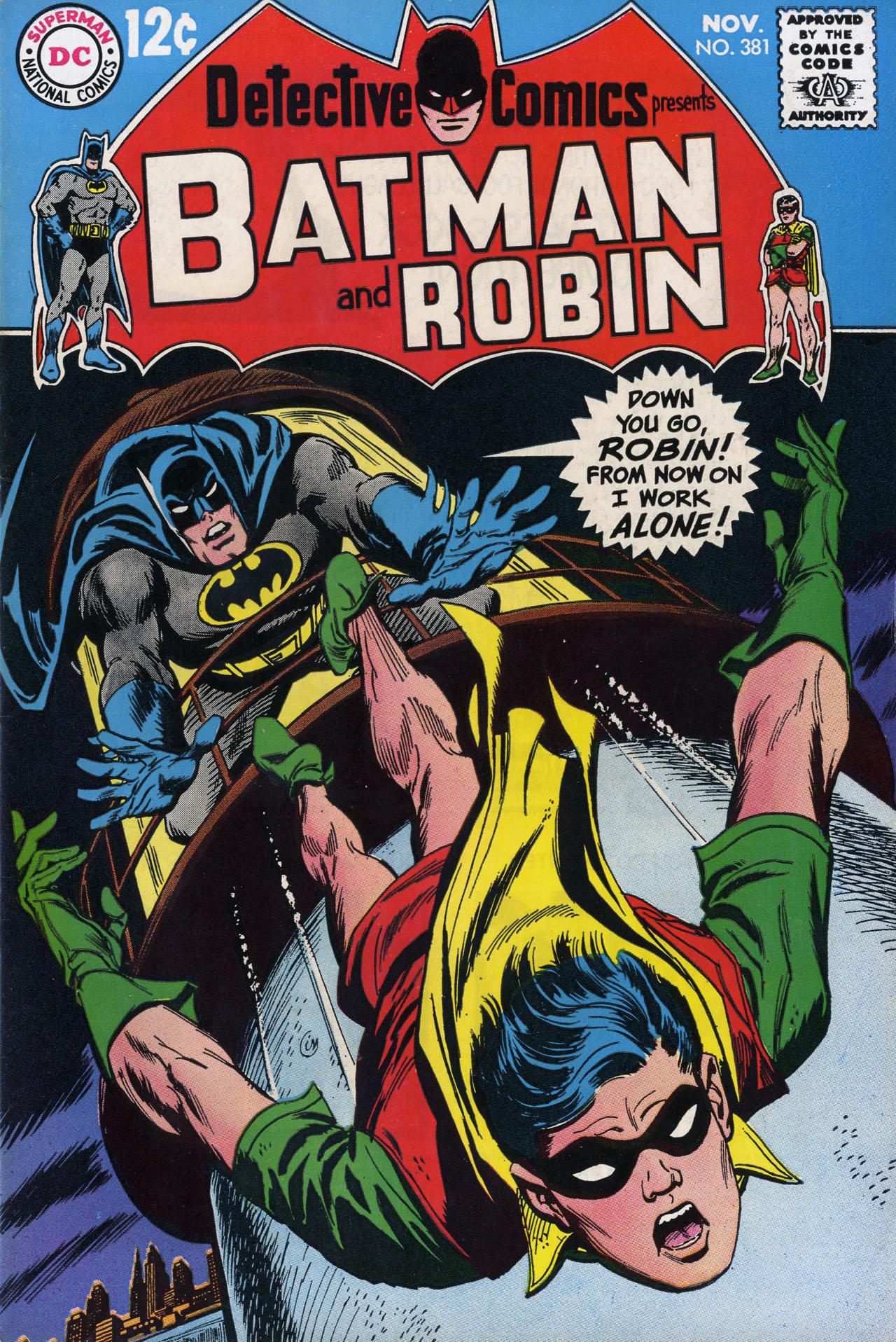 Detective Comics (1937) 381 Page 0