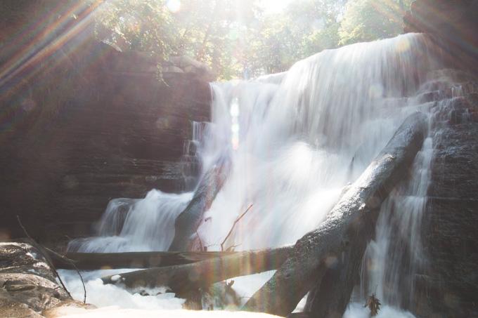 Ohio waterfall