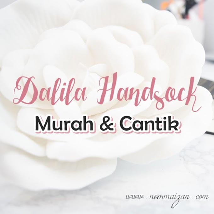 Dalila Handsock | Handsock Muslimah yang Murah & Cantik