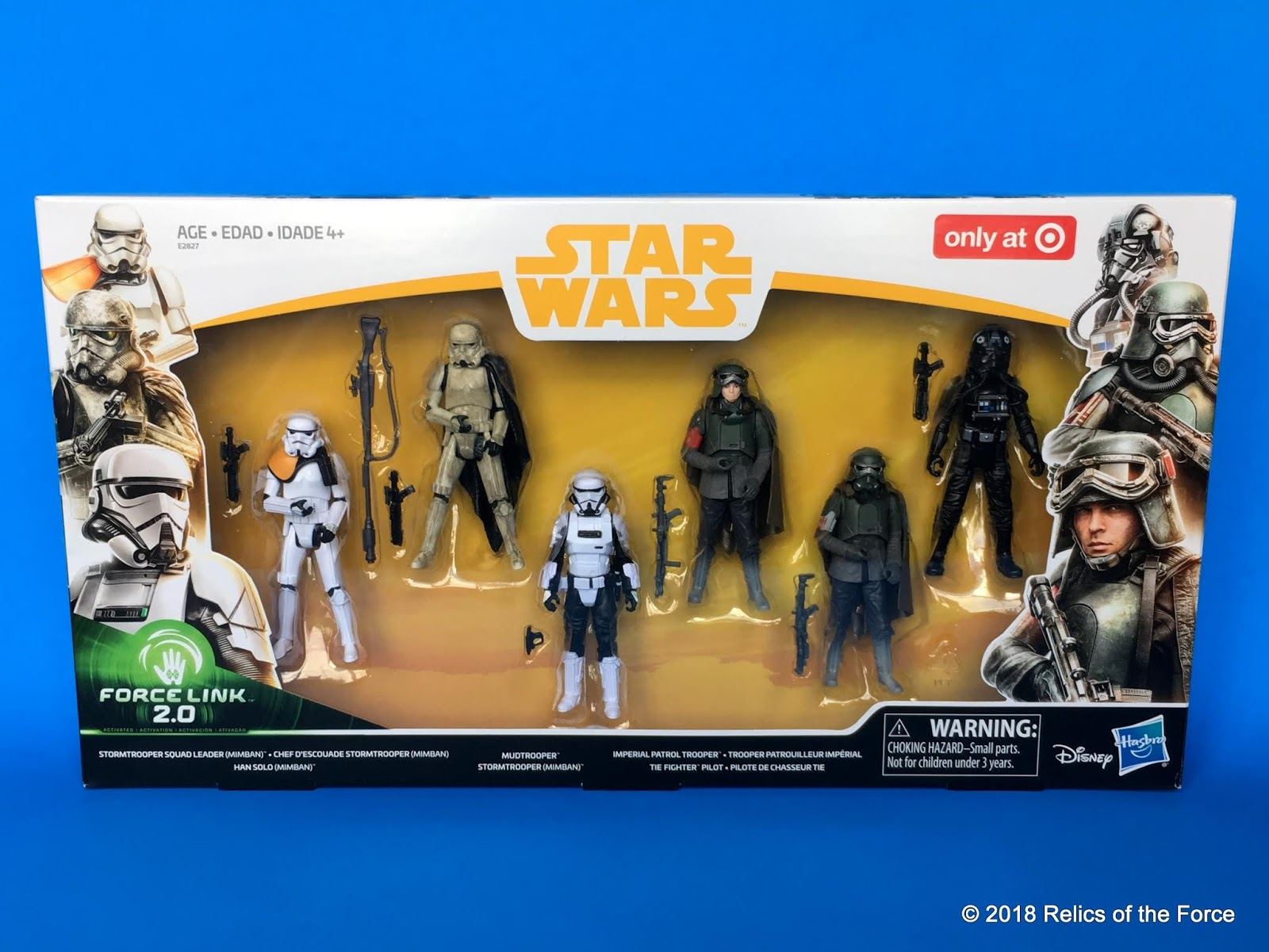 Star Wars Force Link 2.0 Solo Mimban Trooper Patrol Squad Leader 6 Figure Pack