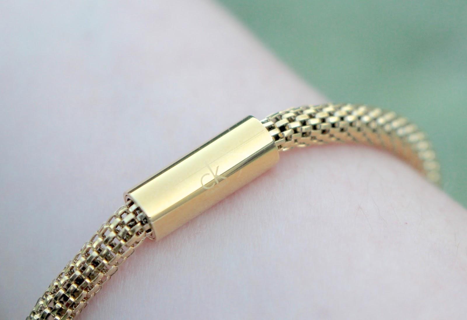 Calvin Klein Impulsive Gold Bracelet