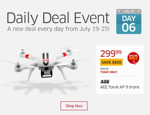 The Source Daily Deal AEE Toruk AP 9 Drone