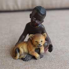 Tribal African Ceramic Figurines in Port Harcourt Nigeria