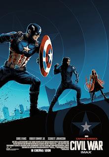 Postere Captain America Civil War - editie limitata - Ranevents - Cinema City - concurs