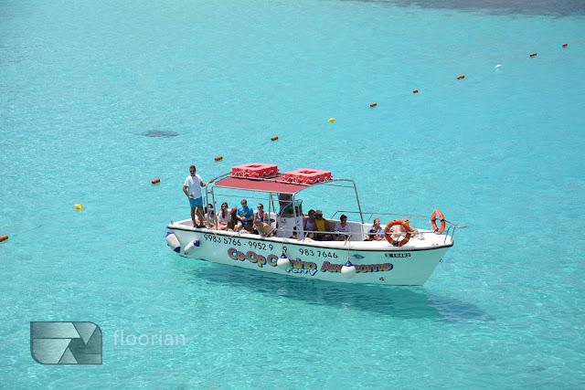 Blue Lagoon na wyspie Comino