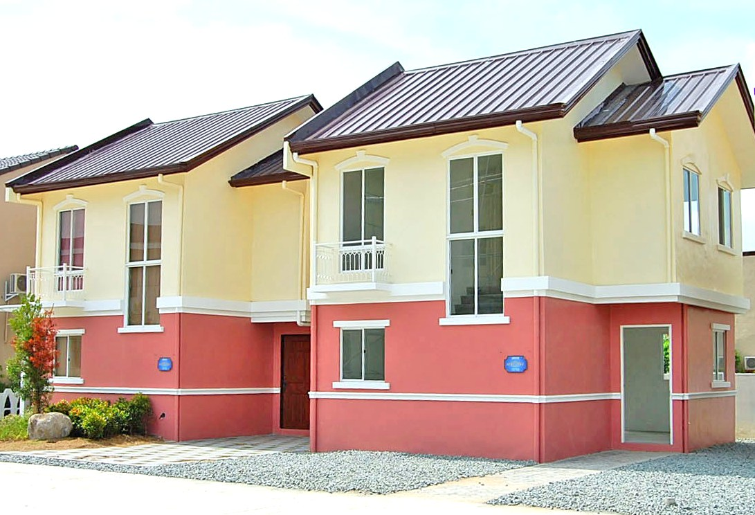 SIMPLE HOUSE DESIGN in the Philippines - Lancaster New City