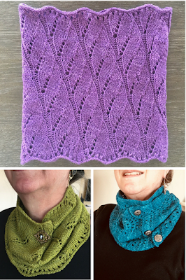 1164e2b8040bd That's how we feel about this trio of cowls that Ravelery Lizonfood has knit  with our Lhasa Wilderness yarn!