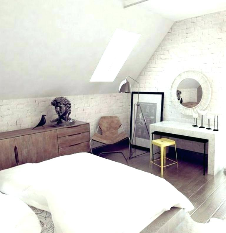 white attic bedroom design ideas