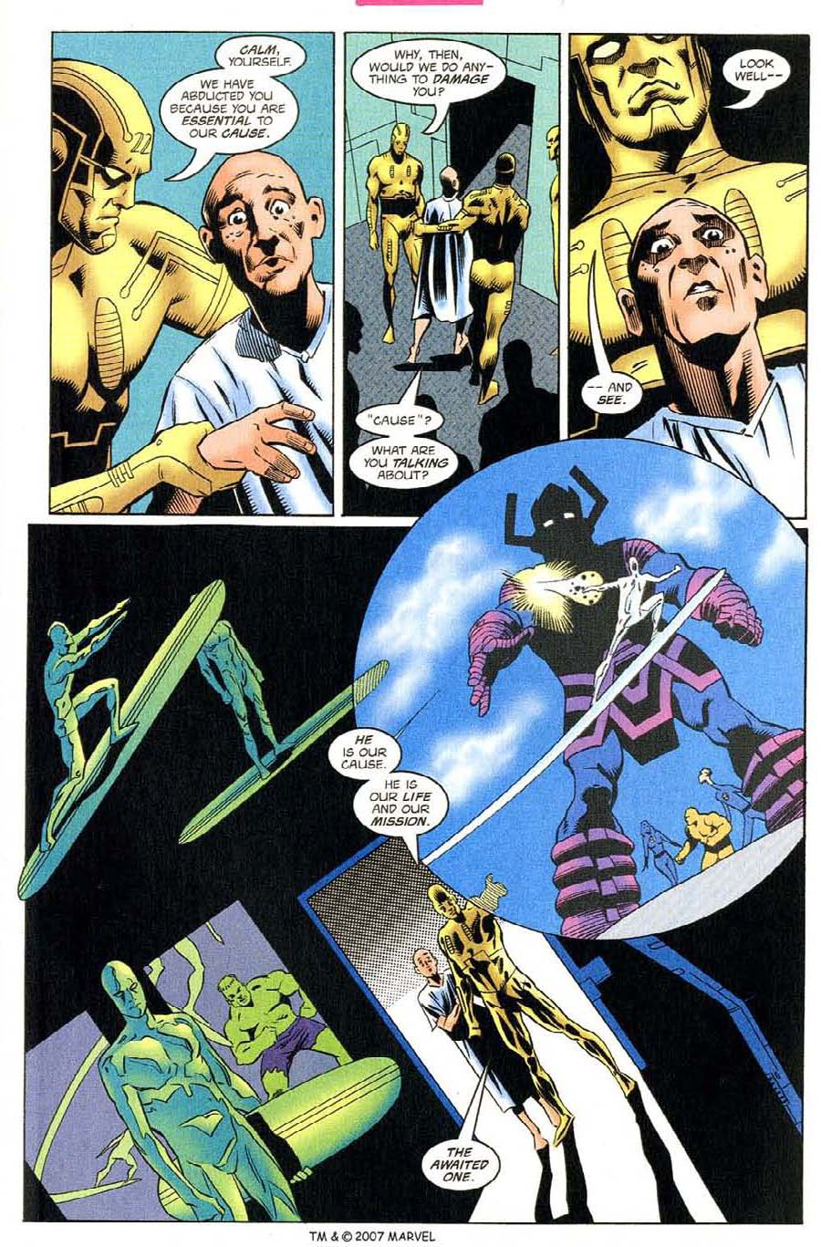 Read online Silver Surfer (1987) comic -  Issue #130 - 17