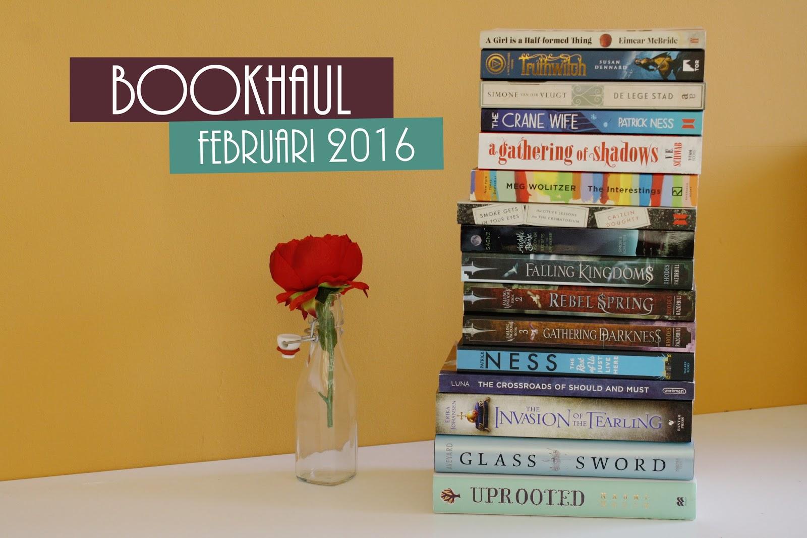 Bookhaul: Februari 2016; thestoryhour.nl