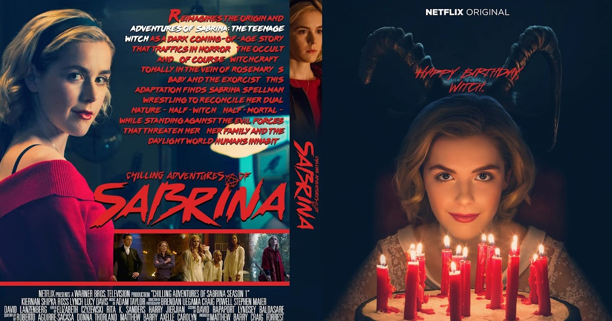 Chilling Adventures Of Sabrina Season 1 Dvd Cover Cover