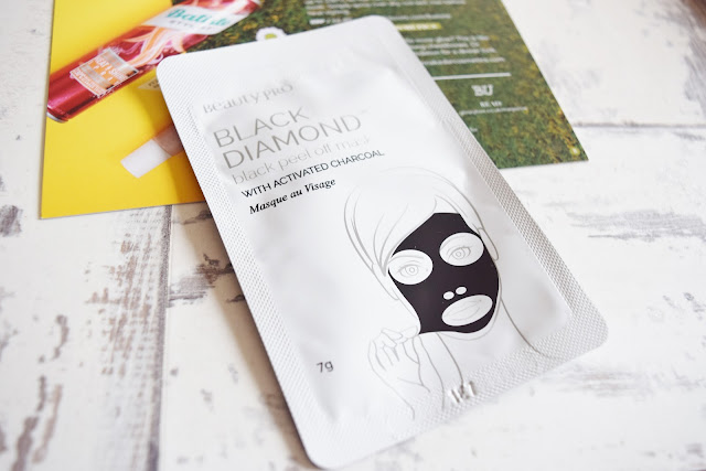 Beauty Pro Black Diamond Black Peel-Off Mask packet