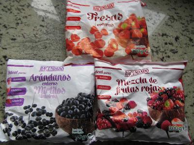 Tarta de frutos rojos y limón Thermomix