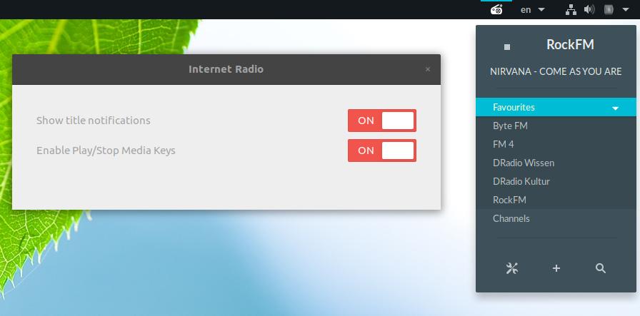 6 Cool Internet Radio Players For Linux ~ Web Upd8: Ubuntu / Linux blog