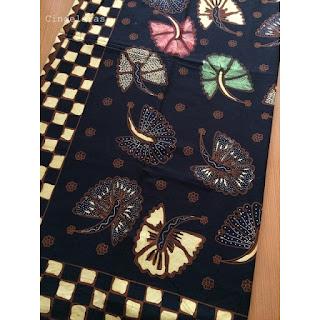 kain Batik Soga Genes Kipas
