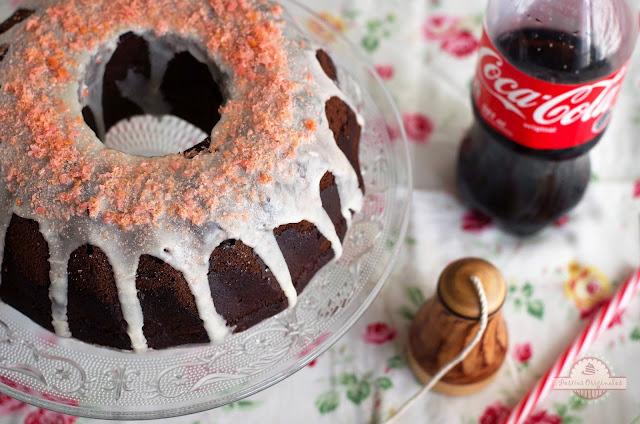 Bundt Cake navideño de Coca-Cola