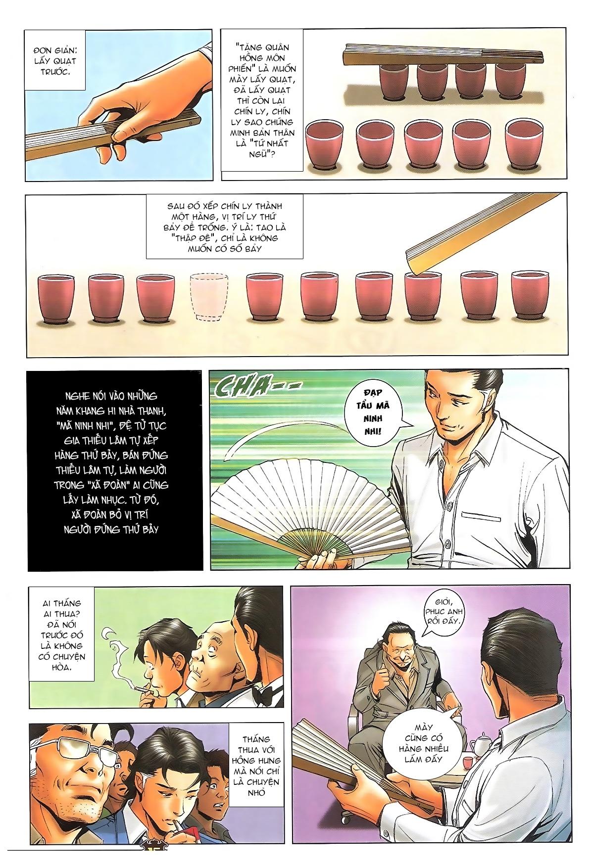 Người Trong Giang Hồ - Ngũ Hổ qui thiên - Chapter 1716: Đàm phán siêu cấp 2 - Pic 13