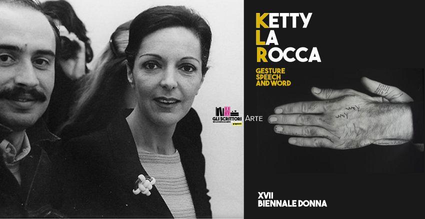 Ketty La Rocca in mostra a Ferrara