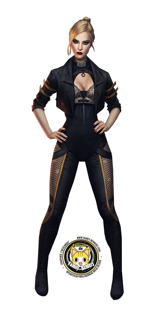 render Black Canary