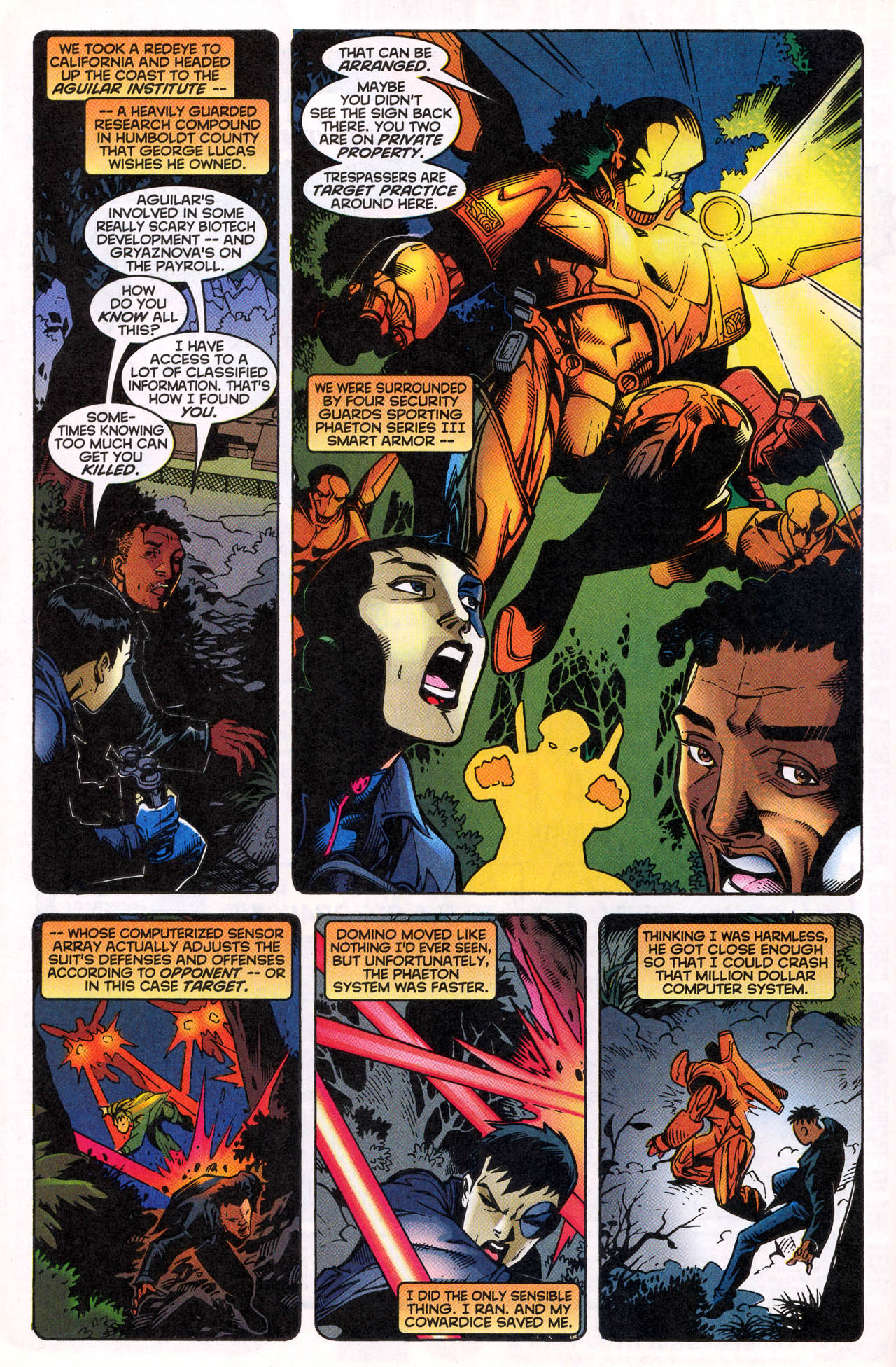 Read online X-Force (1991) comic -  Issue #82 - 13