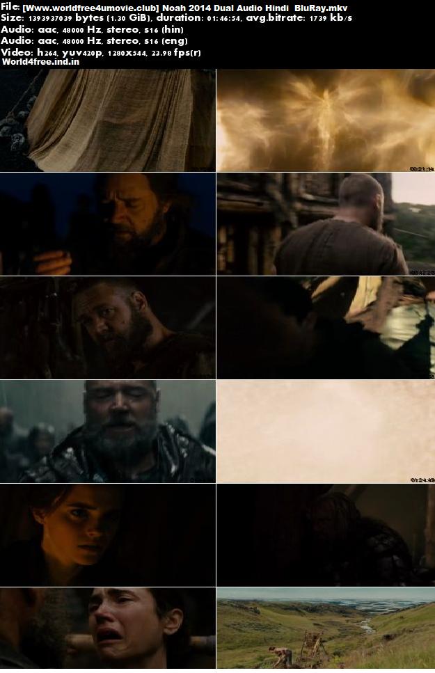 Screen Shoots Of Noah 2014 Full Dual Audio Hindi-English 720p BluRay