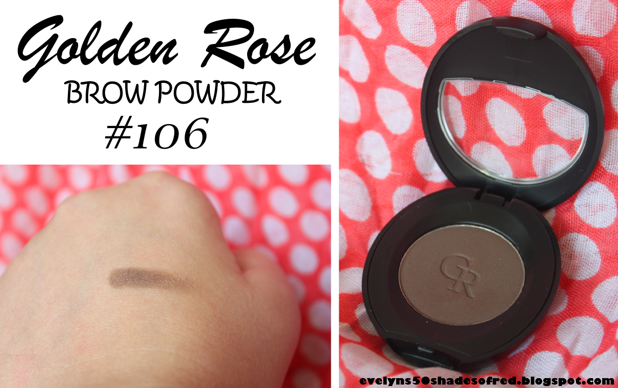 GOLDEN ROSE Eyebrow Powder #106
