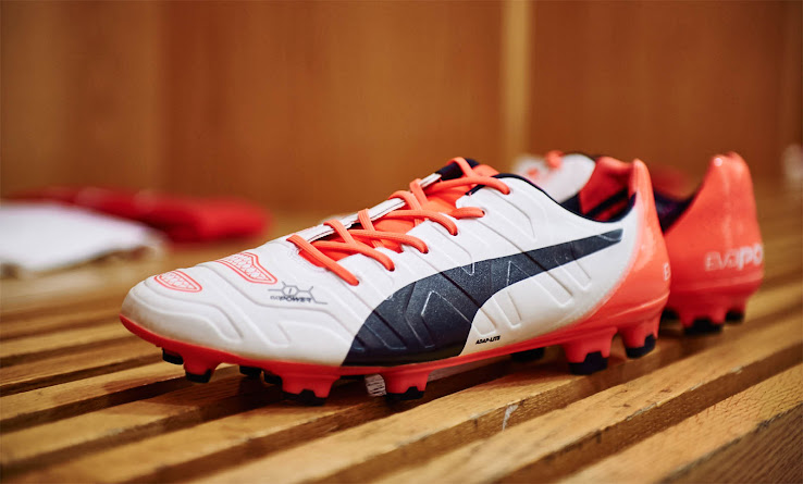 bf4ad580c White / Orange Puma evoPOWER 1.2 2015-2016 Boots Released - Footy Headlines