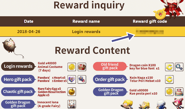How To Claim Code Reward CBT Version on OBT Version, (Cara Tukar Kode Hadiah Versi C