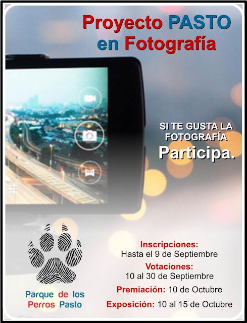 Concurso Proyecto PASTO en Fotografía.