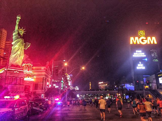 Rock'n'Roll Las Vegas Half Marathon Vegas Course