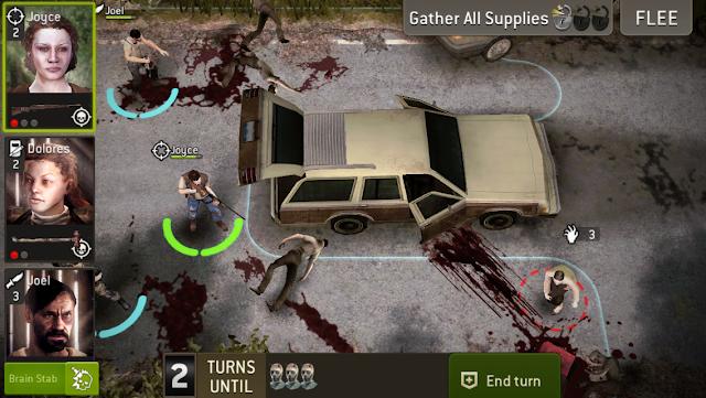 The Walking Dead No Man's Land v2.1.1.16 Apk + Datos SD Mod [Daño alto]