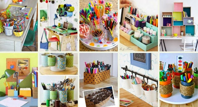 40+ Κατασκευές για την Οργάνωση του Παιδικού Γραφείου