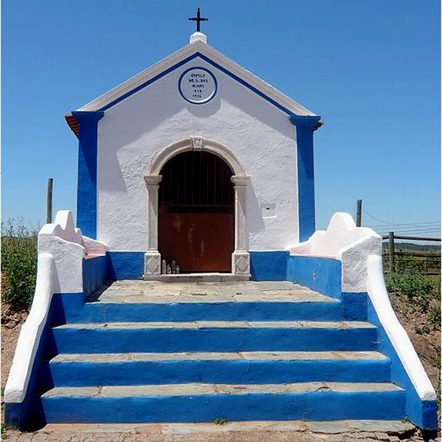 Chapel in Alentejo, Southern Portugal