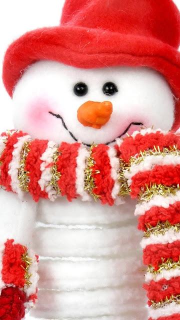 snowman iphone 6s hd wallpaper