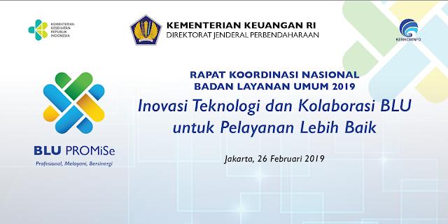 6 Alat Acara RAKORNAS Badan Layanan Umum Kementerian Keuangan (KEMENKEU) 2019