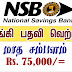 Vacancies in National Savings Bank (NSB)