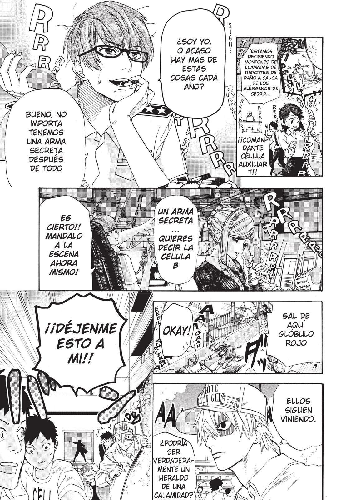 Manga cells at the work 2 sub español