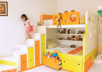 5 Furniture dan Aksesoris Utama dalam Dekorasi Kamar Anak Minimalis