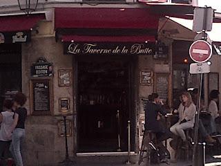 Buttes-aux-Cailles  charmante brasserie sur la place