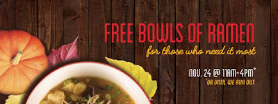 Free Food on Thanksgiving from Furious Spoon in Chicago/ Big Ed's BBQ in Waukegan