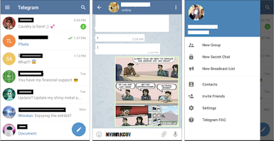 TELEGRAM APK FOR ANDROID - NYIMAKCUY