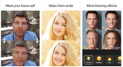 تطبيق faceapp للتعديل على الوجه باحترافيه للاندرويد والايفون