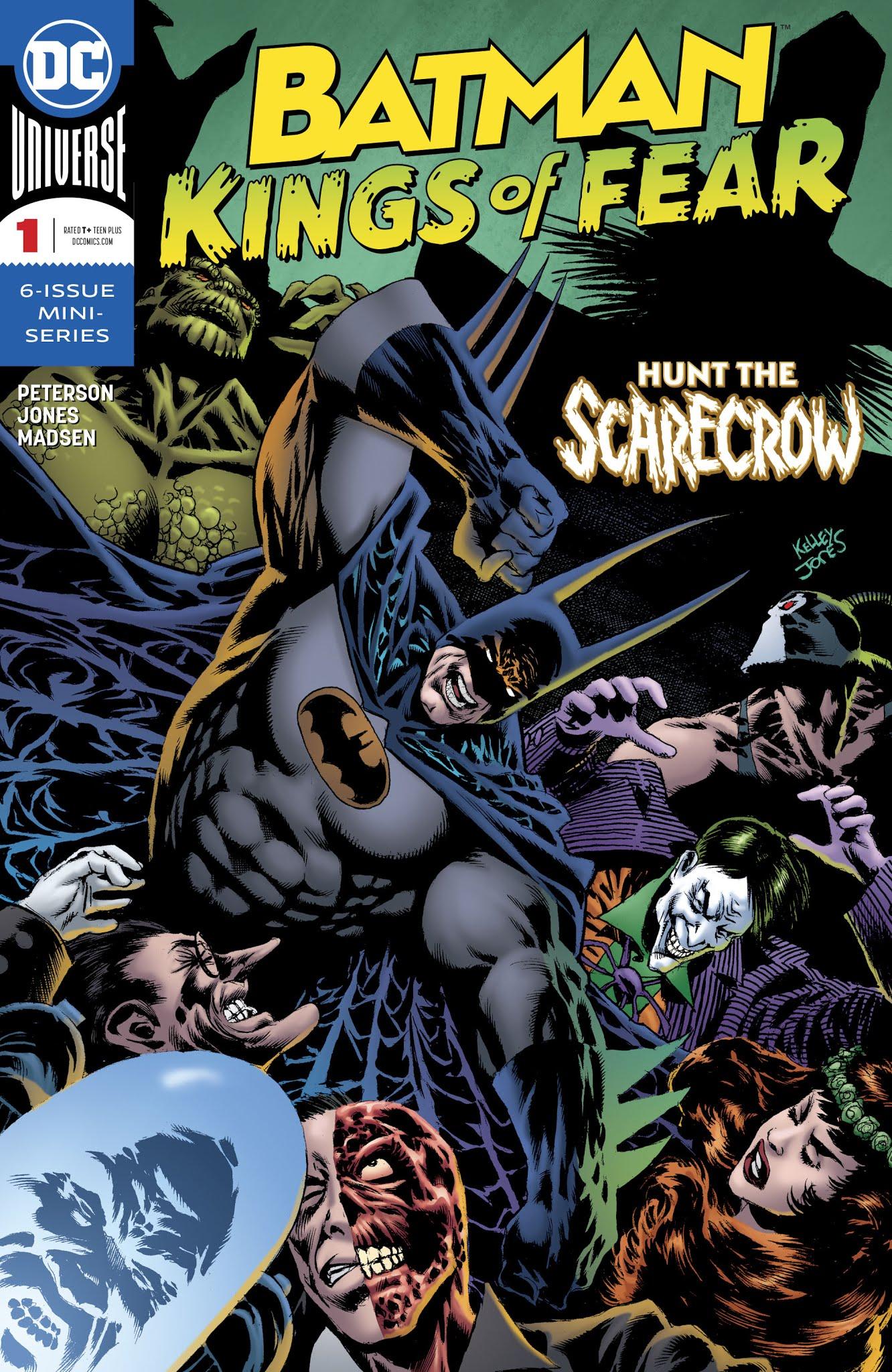 Batman: Kings of Fear 1 Page 1