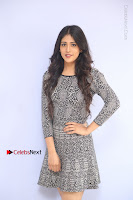 Actress Chandini Chowdary Pos in Short Dress at Howrah Bridge Movie Press Meet  0022.JPG