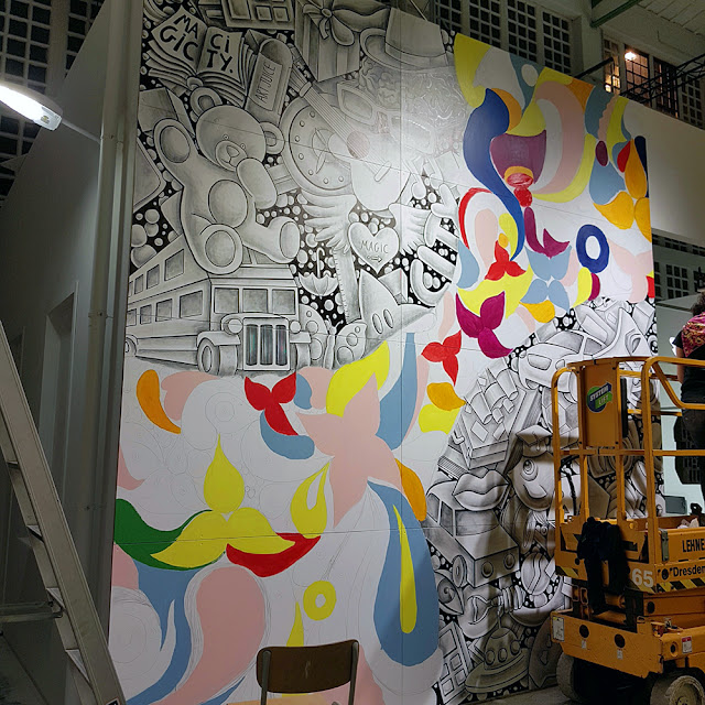 Street Art show Magic City (2016) - Ben Heine Art - Drawing and Painting - #magiccitylife Dresden