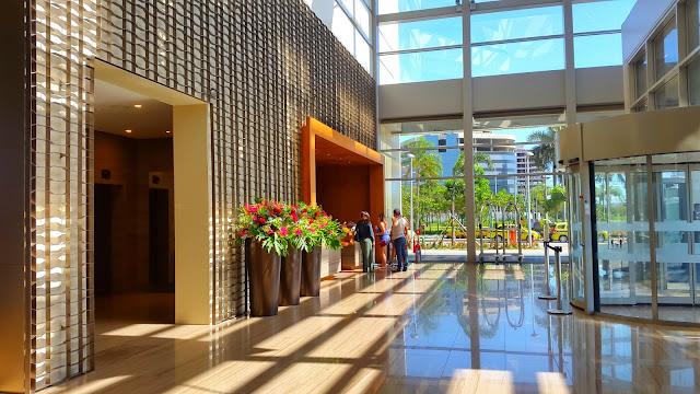 Recepção do Hilton Barra Rio