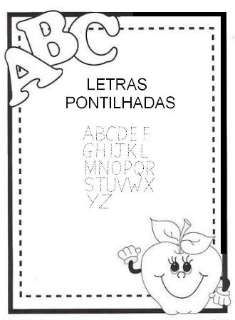Blog Professor Zezinho Letras Pontilhadas Pronto Para Imprimir
