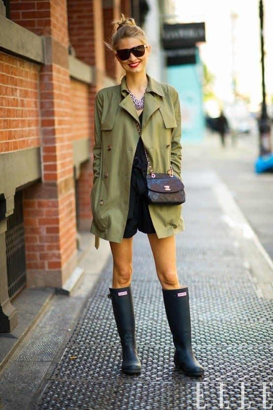 How to Style Your Hunter Boots (in Florida)
