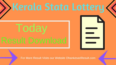 Kerala State Lottery Niraml Weekly Lottery (NR-115) 05/04/2019 Result Download