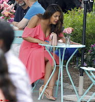 Priyanka Chopra in a Deep neck Red Gown on the Set of Isnt It Romantic ~  Exclusive Celebrities Galleries 013.jpg